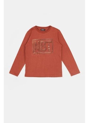 Nebbati Erkek Çocuk Kiremit T-Shirt 20Fw0Nb3517 Kiremit